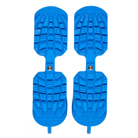 SKI BOOT TRACTION BLUE