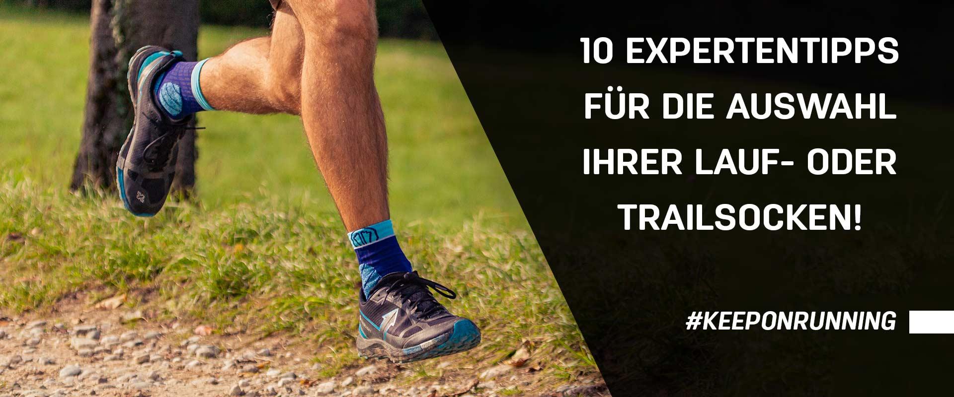 10 Expertentipps für die Auswahl Ihrer Lauf- oder Trailsocken!