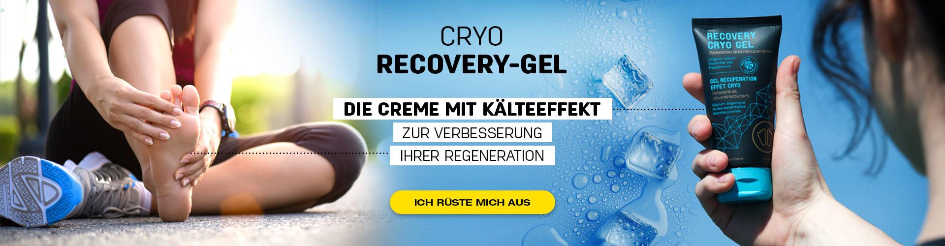 Der Kryo-Effekt ist eine großartige Erholung nach einer Sportsitzung und fördert Ihre Erholung