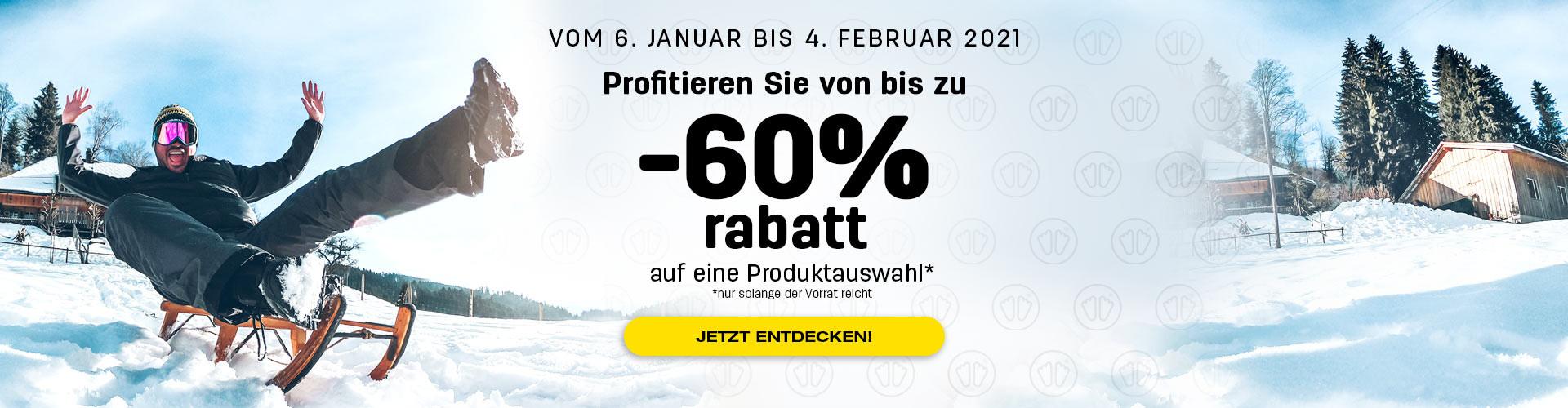 Profitieren Sie von bis zu -60% rabatt auf eine Produktauswahl!