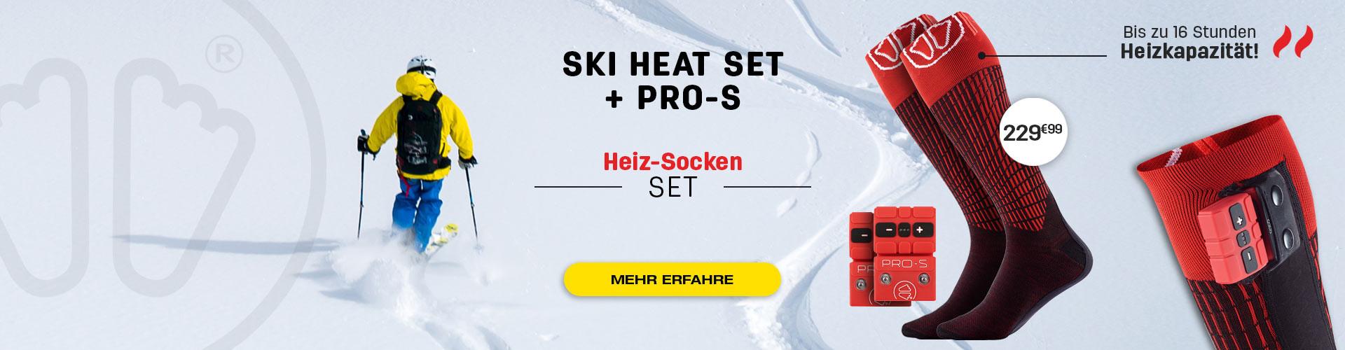Deine Füße warm in deinen Skischuhen, Glück! Genießen Sie bis zu 16 Stunden Hitze!