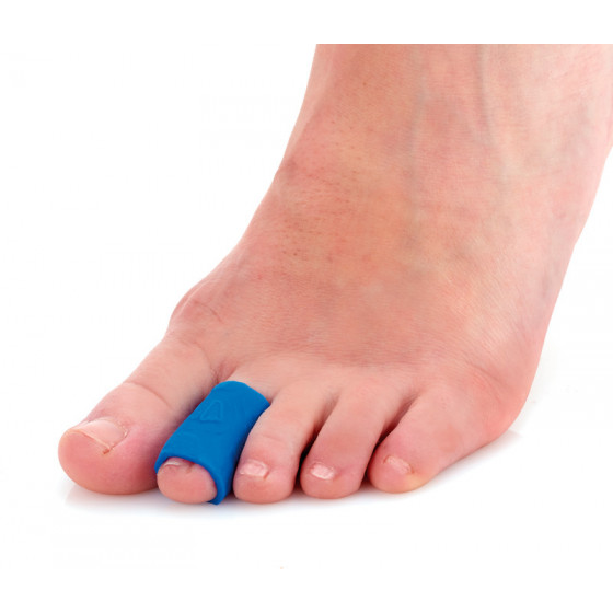 Gel toe wrap