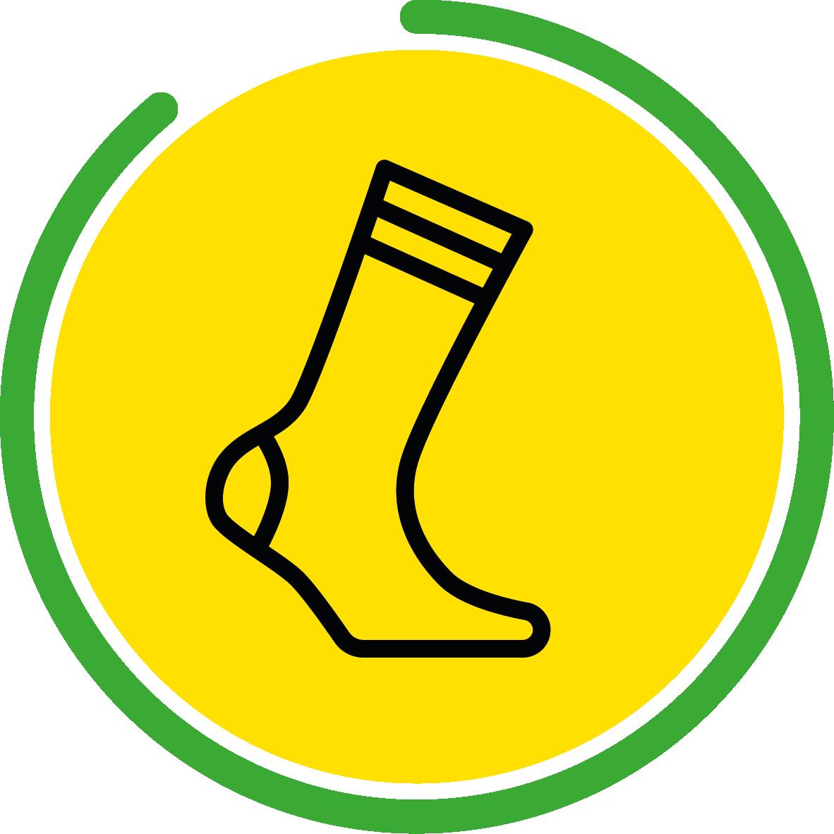 Choisir la bonne chaussette