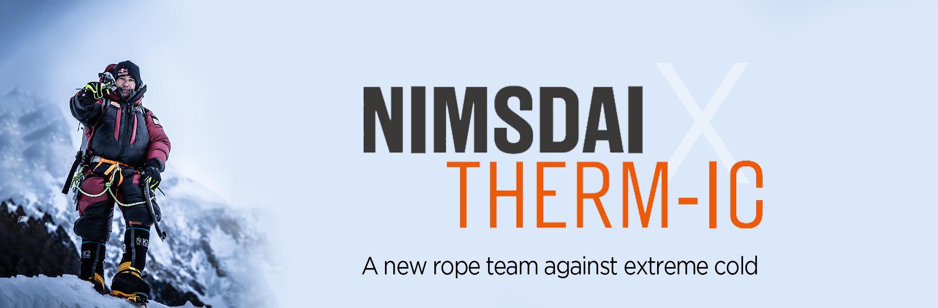 Nimsdai, Nirmal Purja, a new rope team against extreme cold