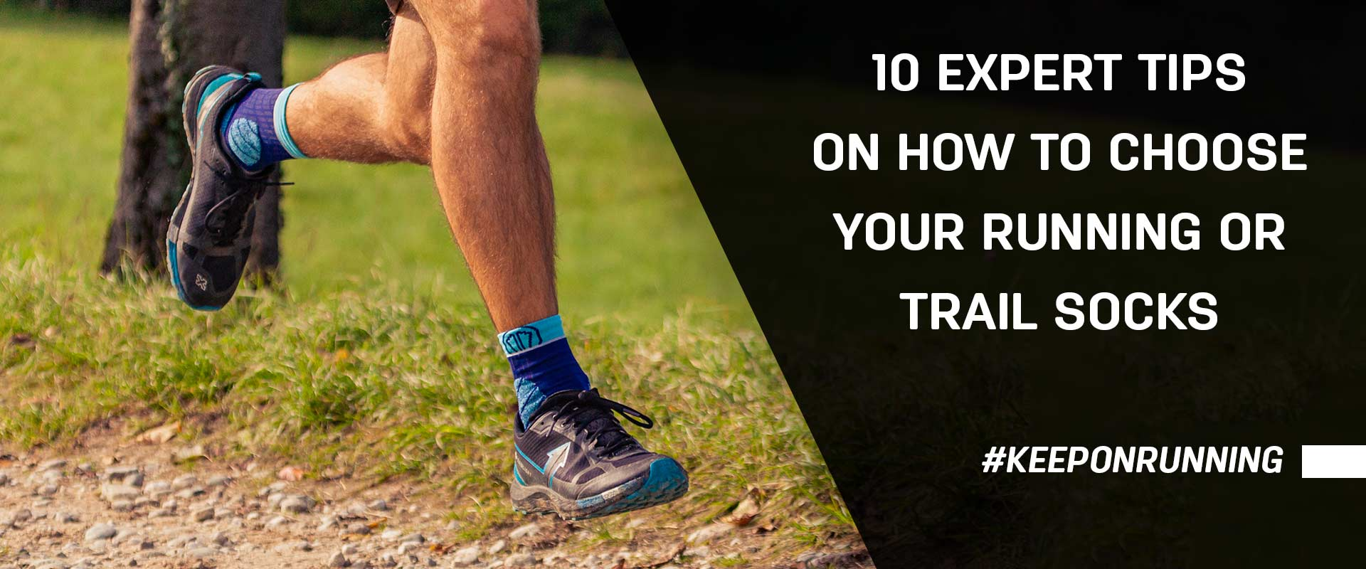 How to choose your road or trail running socks?