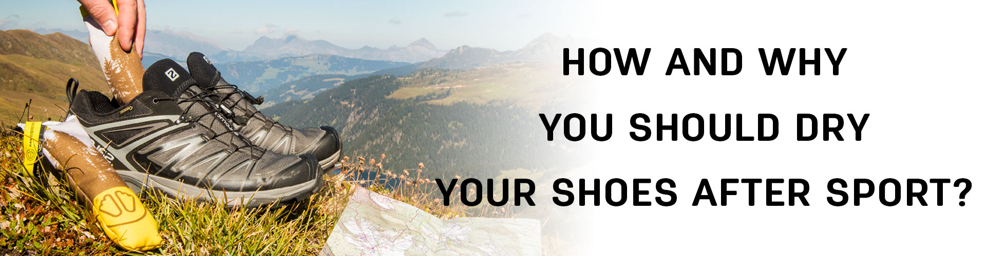 How and why you should dry your shoes after sports