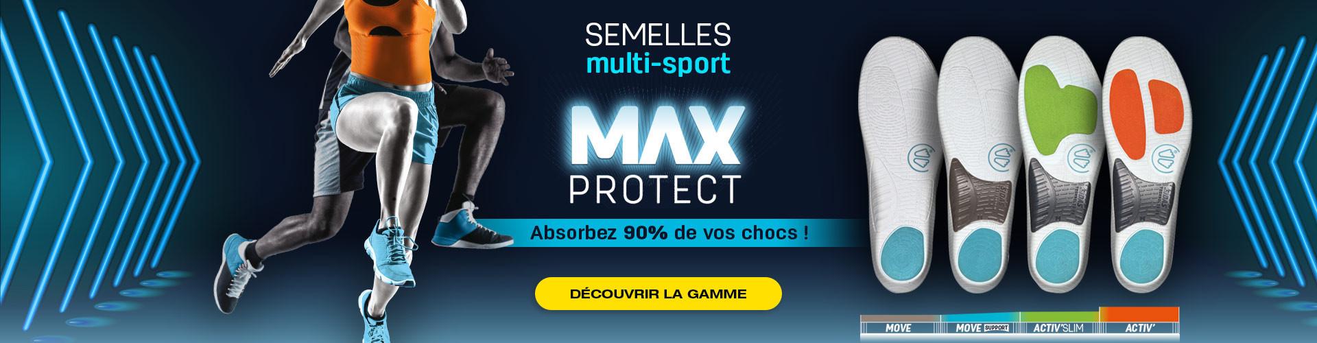 Découvrez notre nouvelle gamme de semelles pour le multi-sports !