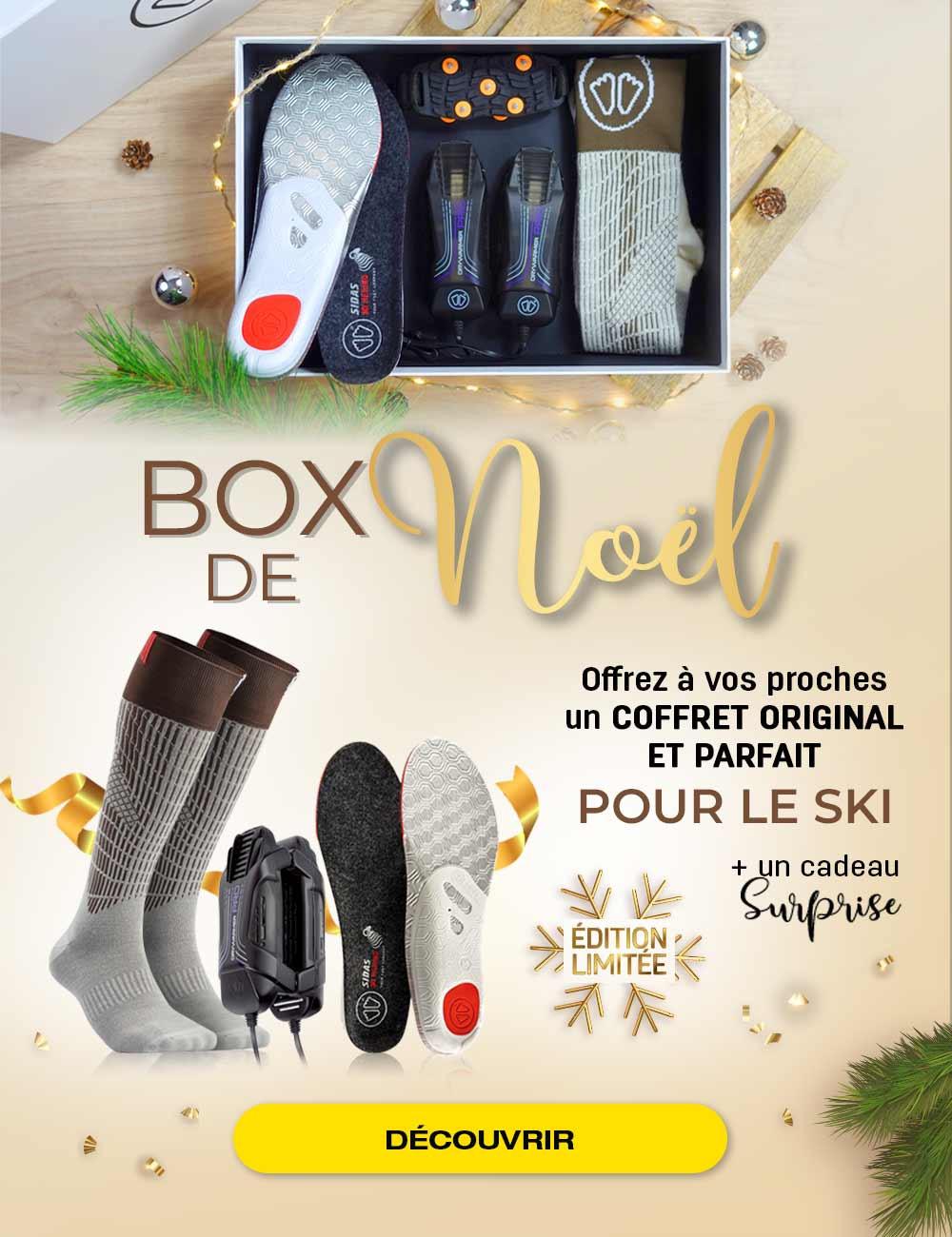 Profitez de notre box de Noël spéciale ski ! Offrez un cadeau original pour Noël !