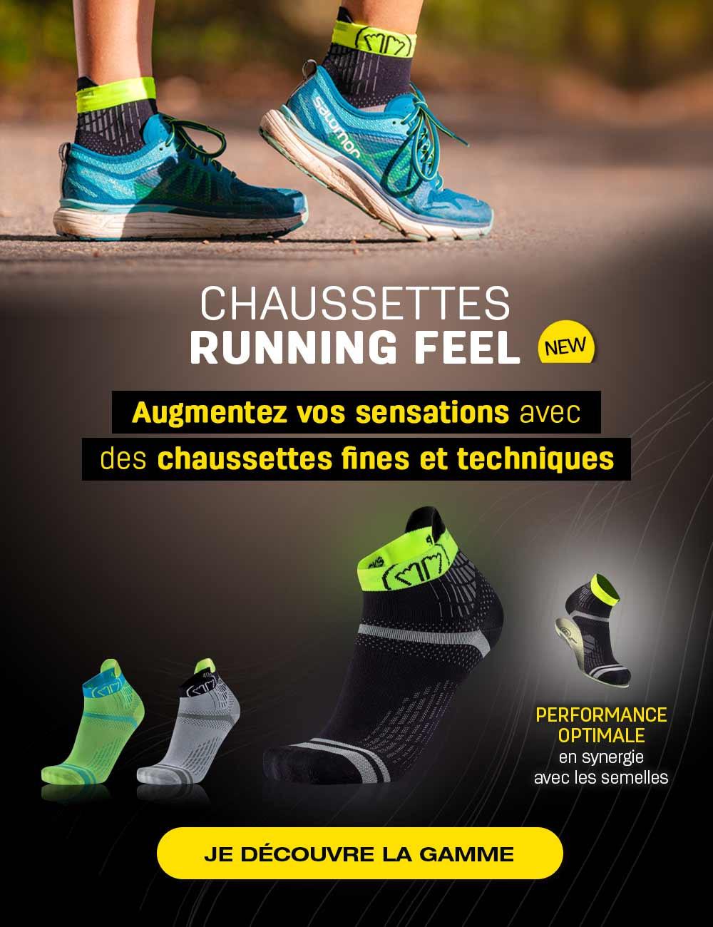 Découvrez nos nouvelles chaussettes de course à pied, Run Feel !