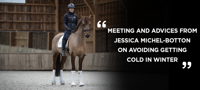 MEETING AND ADVICES FROMJESSICA MICHEL-BOTTON ON AVOIDING GETTING COLD IN WINTER