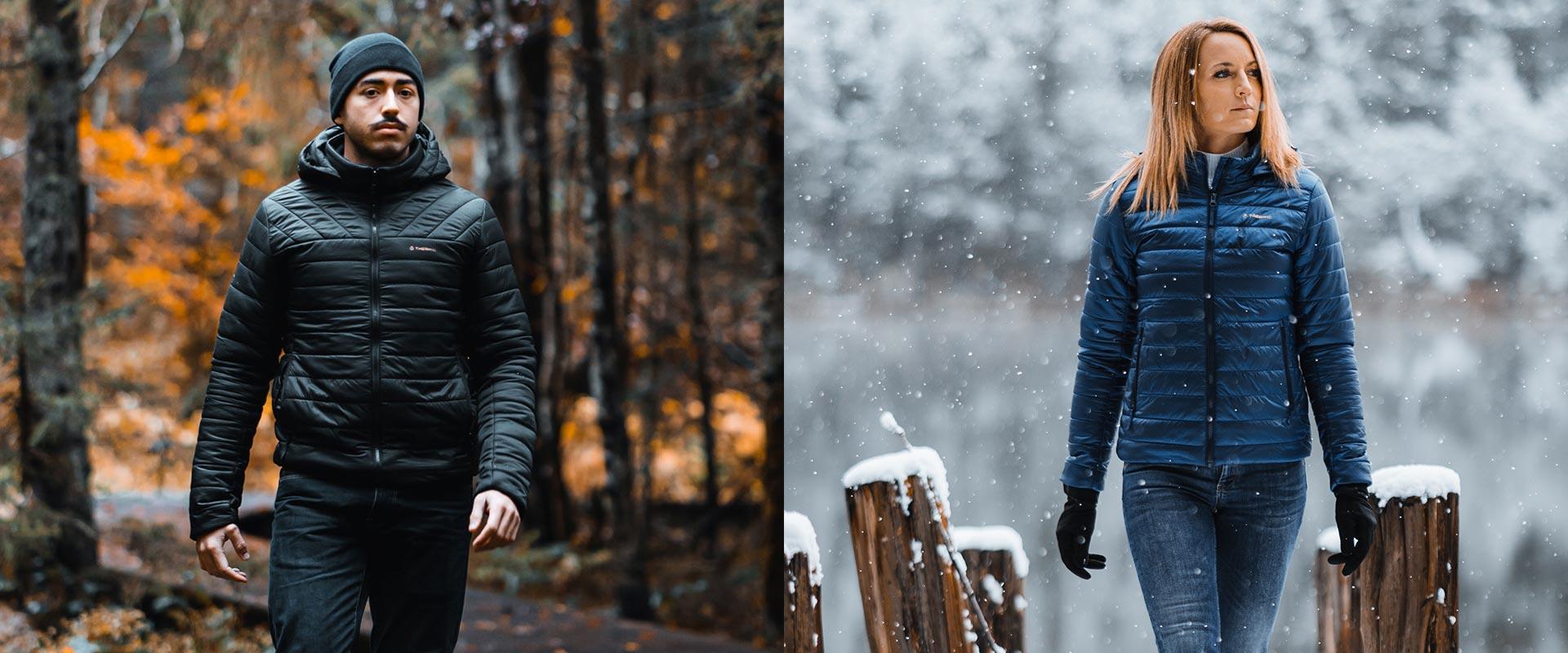 La veste chauffante Therm-ic, style et fonctionnalité