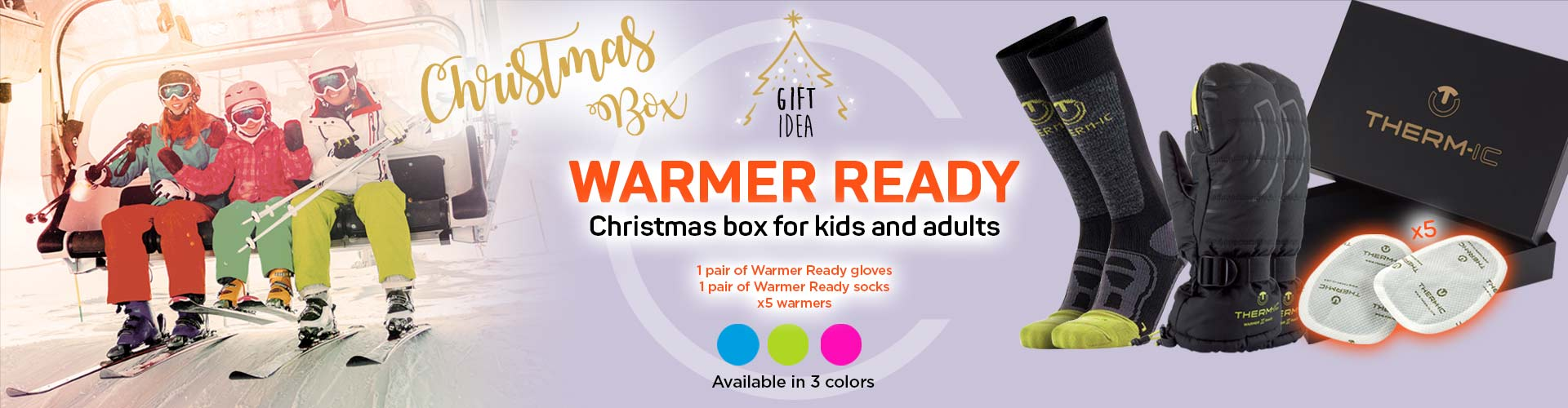 christmas box for adults and kids