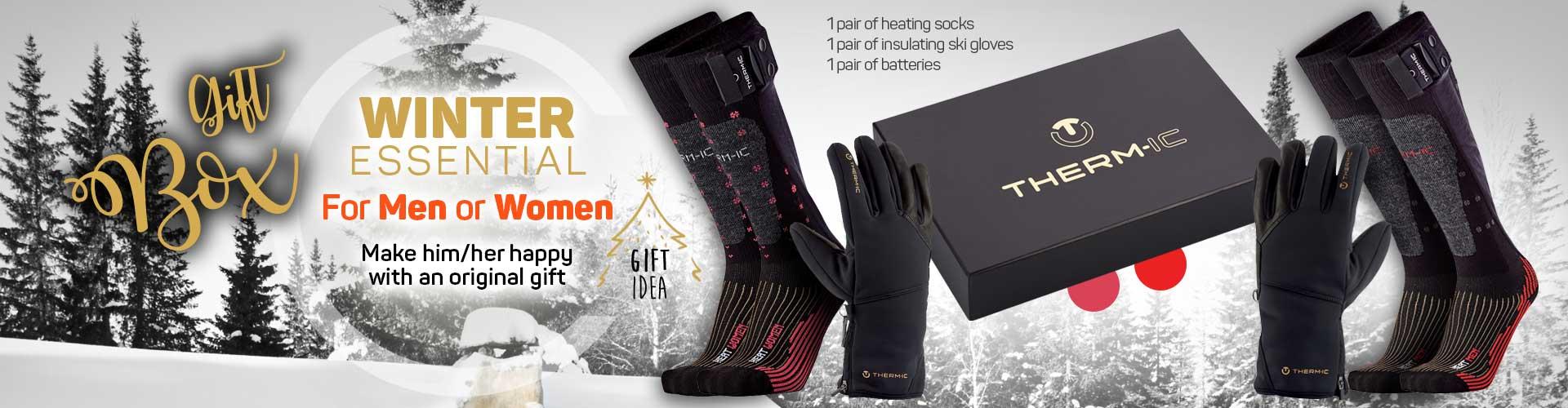 christmas box winter essential for men or women