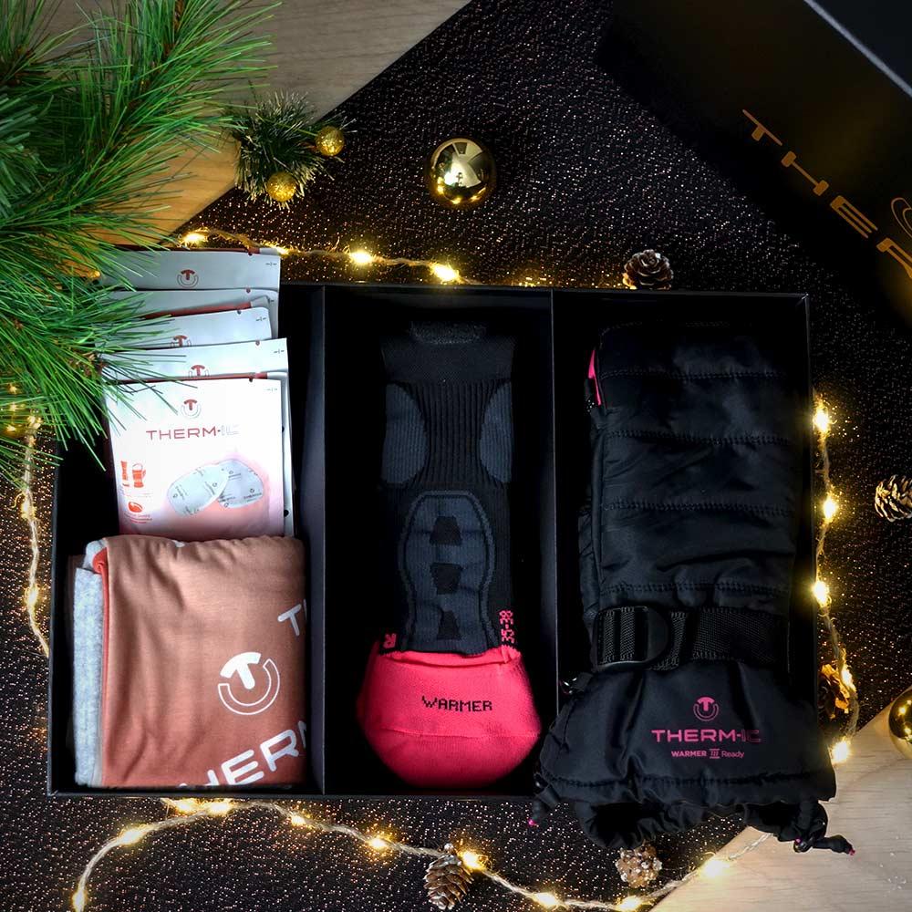 Christmas box warmer ready women