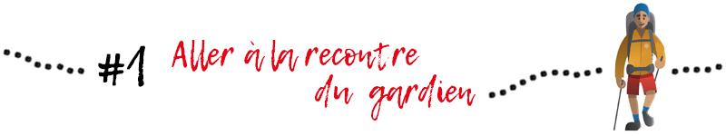 GR20 conseil : aller à la rencontre du gardien