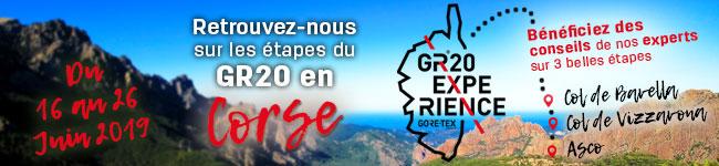 Retrouvez nos sur 3 étapes du GR20 avec Experience by GORE-TEX