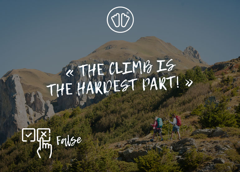 GR20: the most difficult is the climb