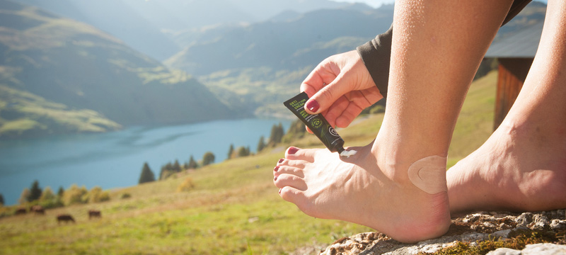 how to prepare your feet on a long hike?