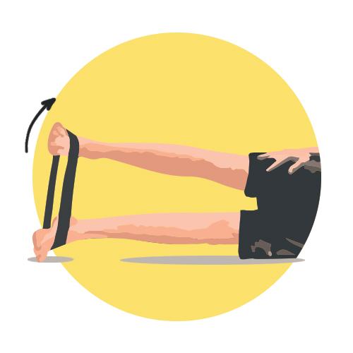 Gainage pour le renforcement musculaire du pied