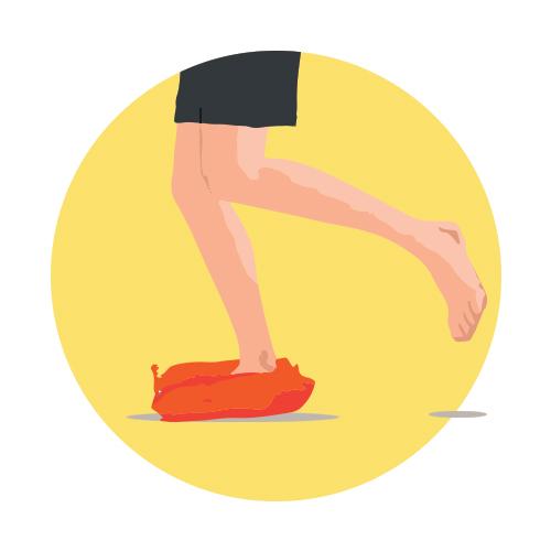 Équilibre et proprioception pour le renforcement du pied