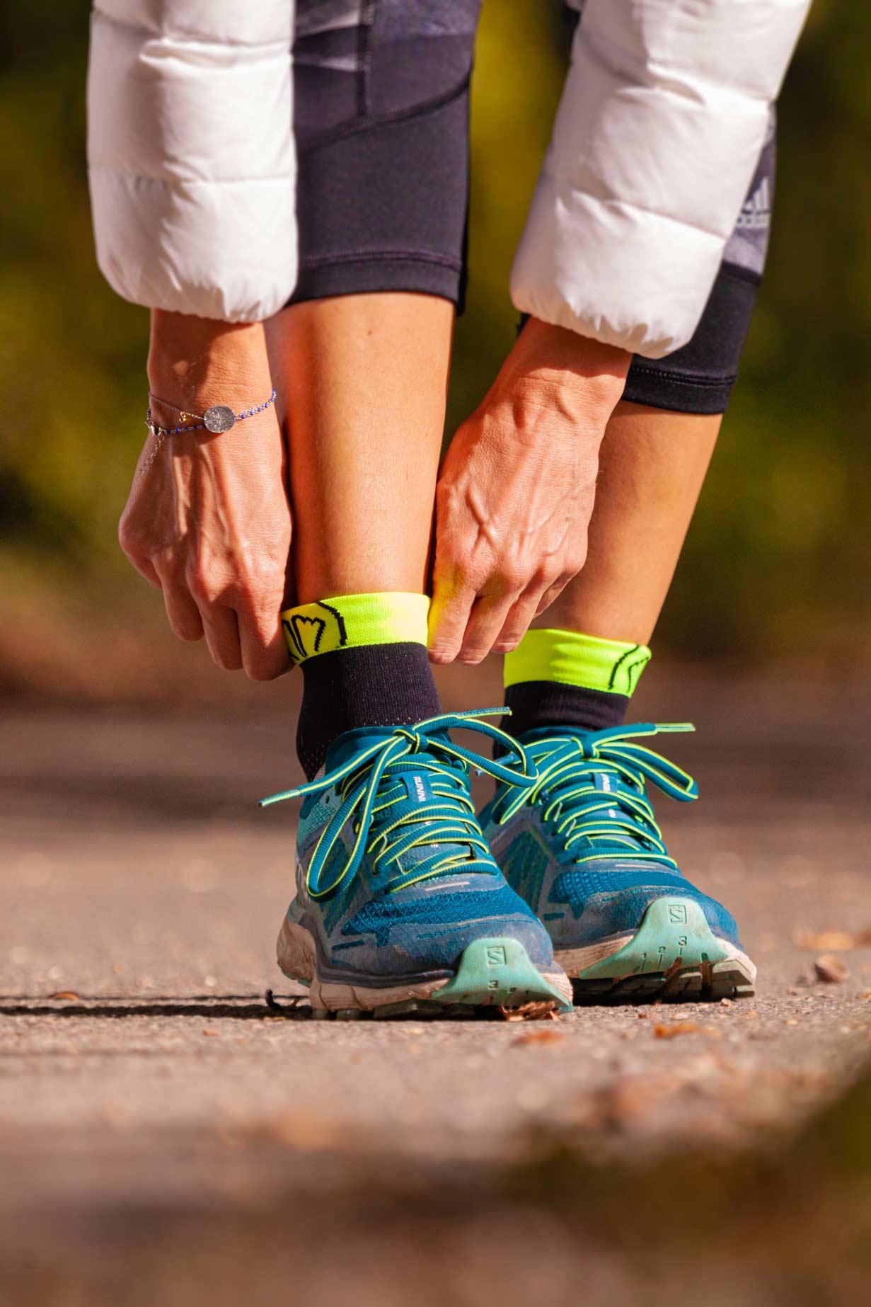 Chaussettes running sidas course à pied sur route
