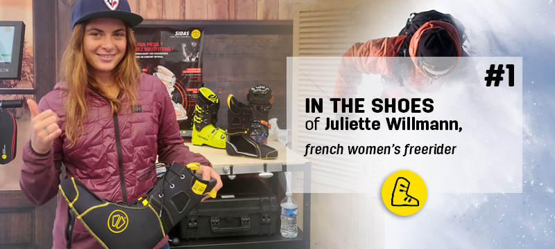 In the shoes of #1 Juliette Willman