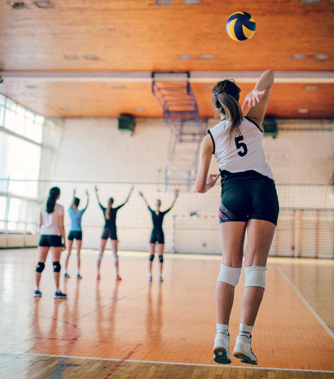 Volleyball semelles sidas