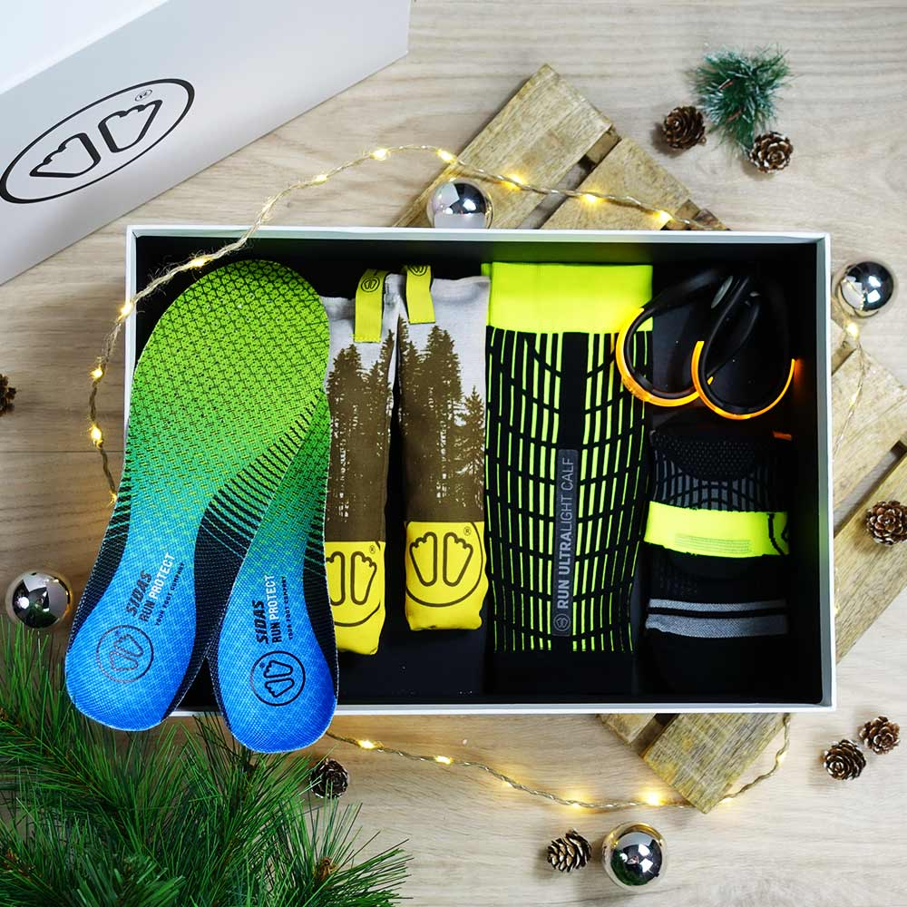 Christmas running box Sidas