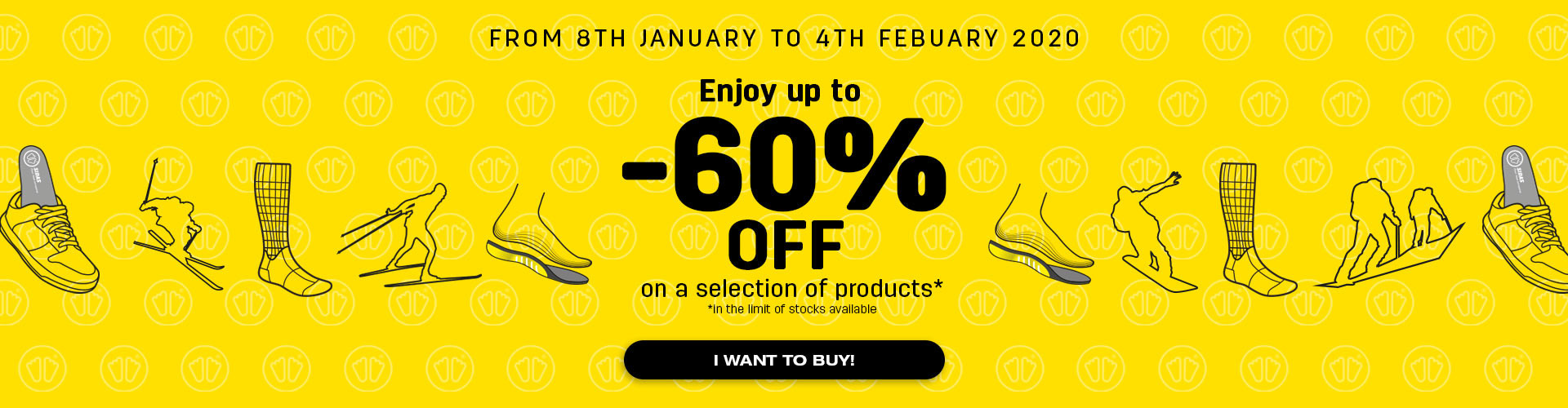 Winter Sales: enjoy up to 60% off!