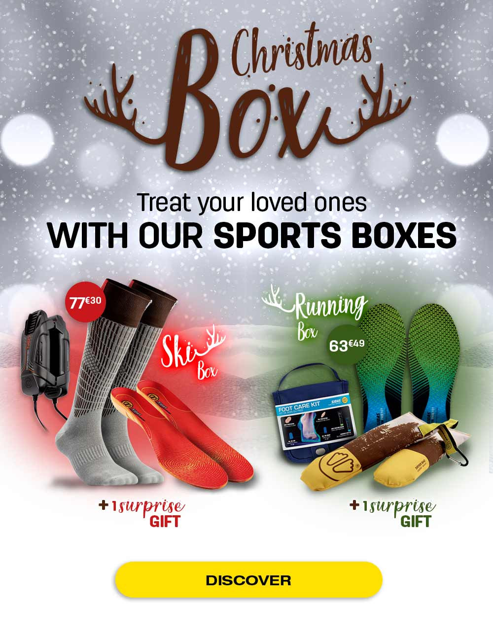 Discover our Christmas box for running or skiing!