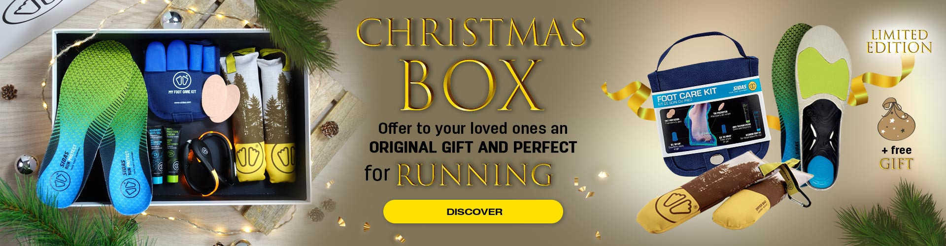 Discover our Christmas Running box with a free gift inside!