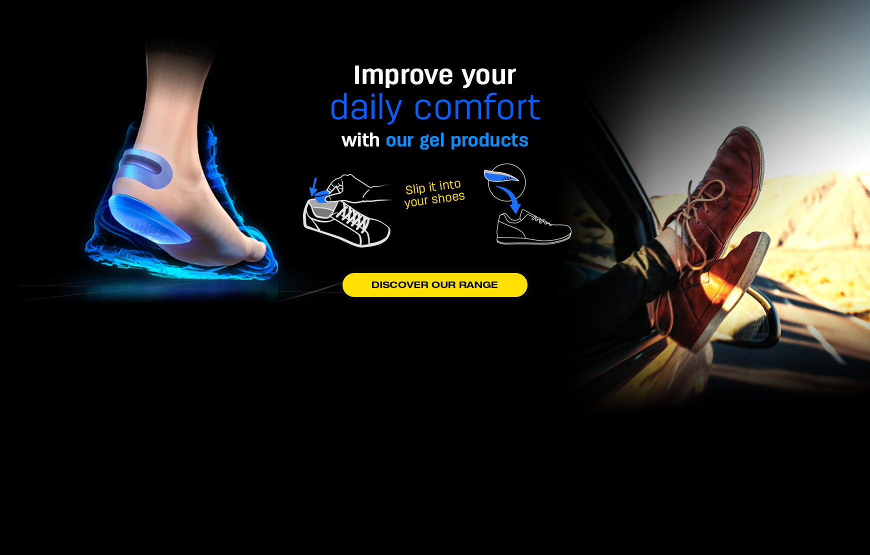 Perfect Gel products to enhance your daily comfort in your shoes