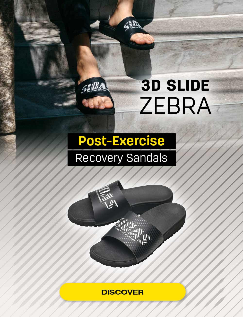 The best flip-flops for recover after your sport session!