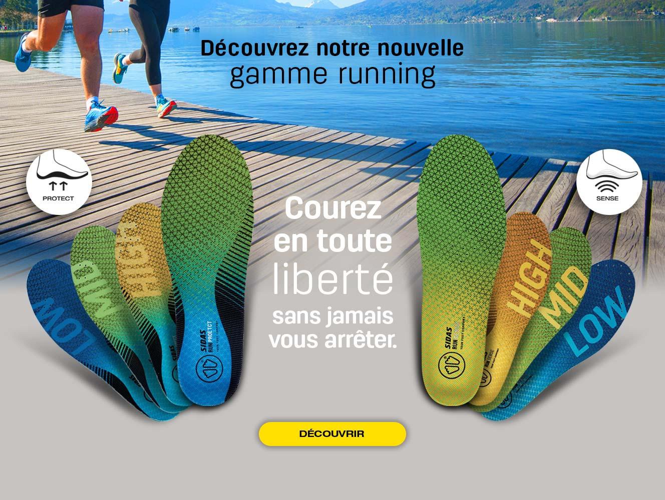 Découvrez notre nouvelle gamme spécialisée pour la course à pieds