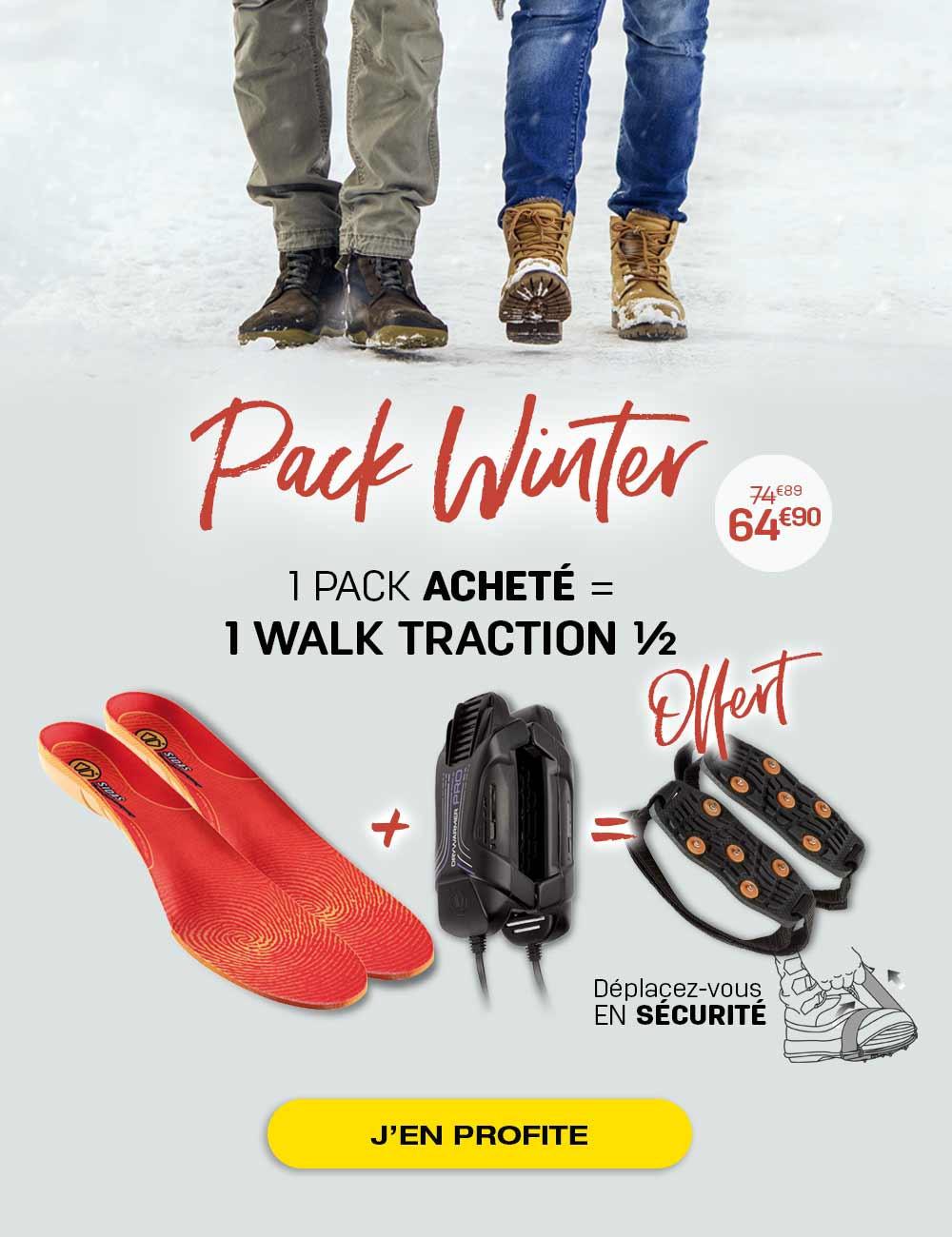 Préparez votre séjour à la montagne grâce au pack Winter !