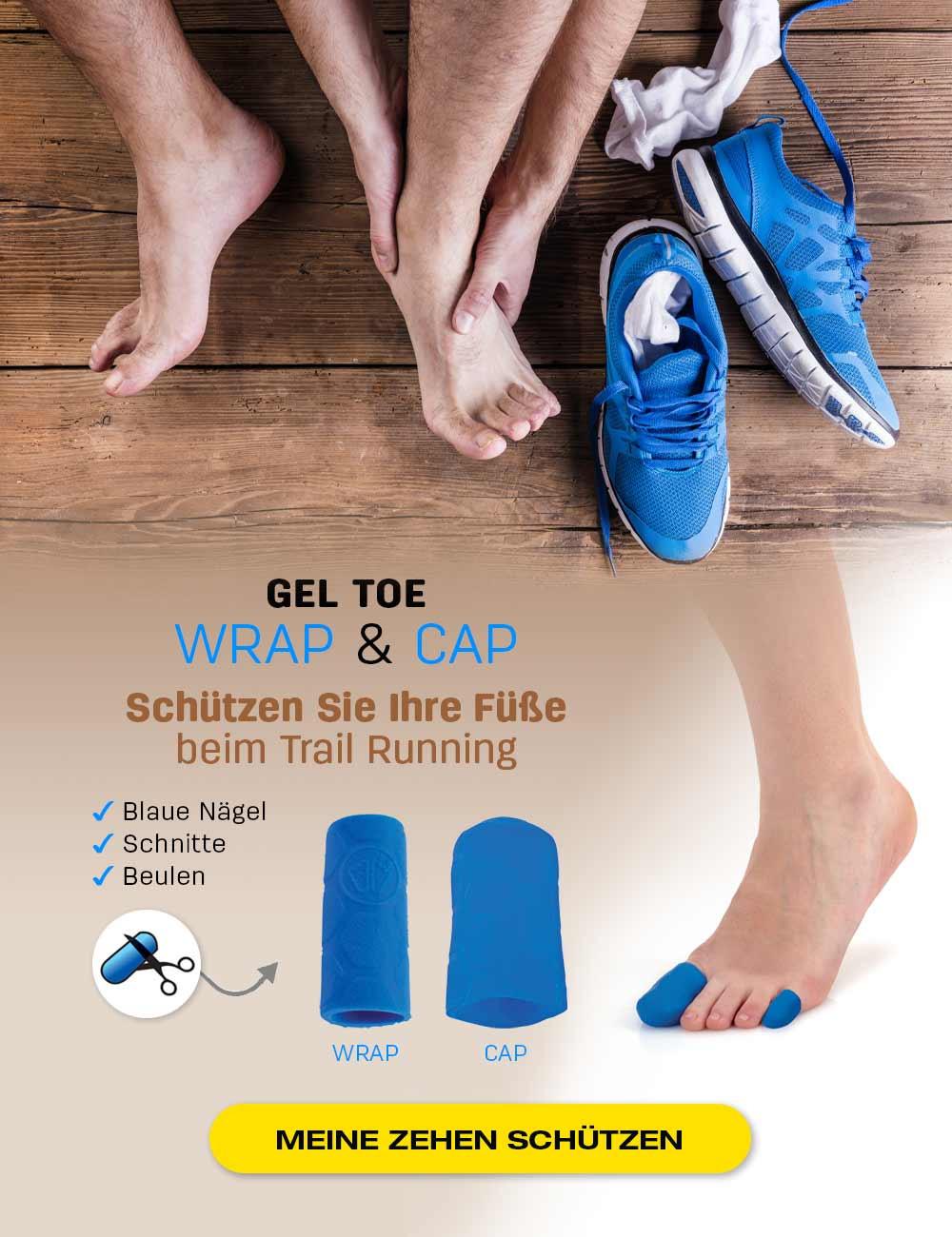 Schützen Sie Ihre Füße beim Trail Running