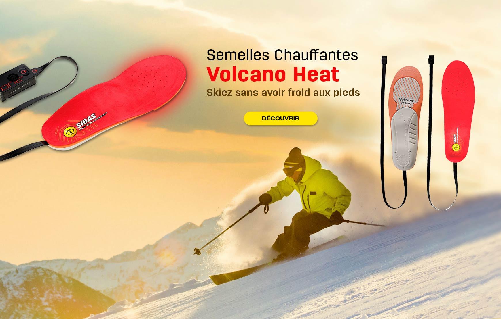 Skiez sans avoir froid aux pieds