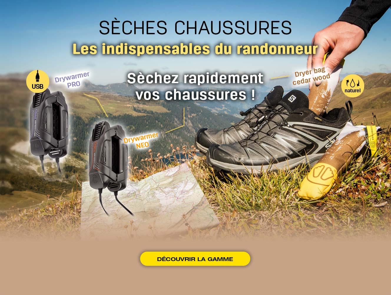 Séchez rapidement vos chaussures grâce aux sèches chaussures SIDAS !