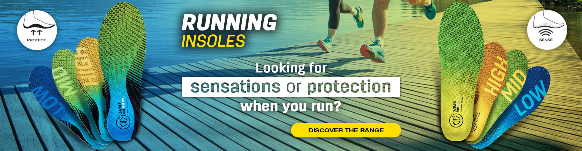 Looking for sensations or protection when you run? Find your insoles !