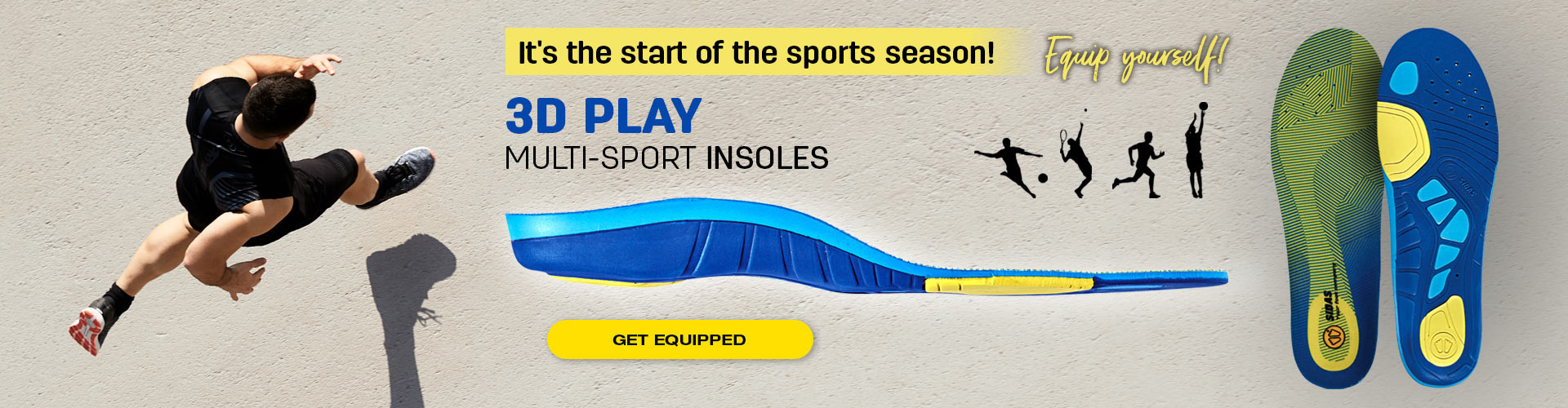 Get equipped for your back to sport!