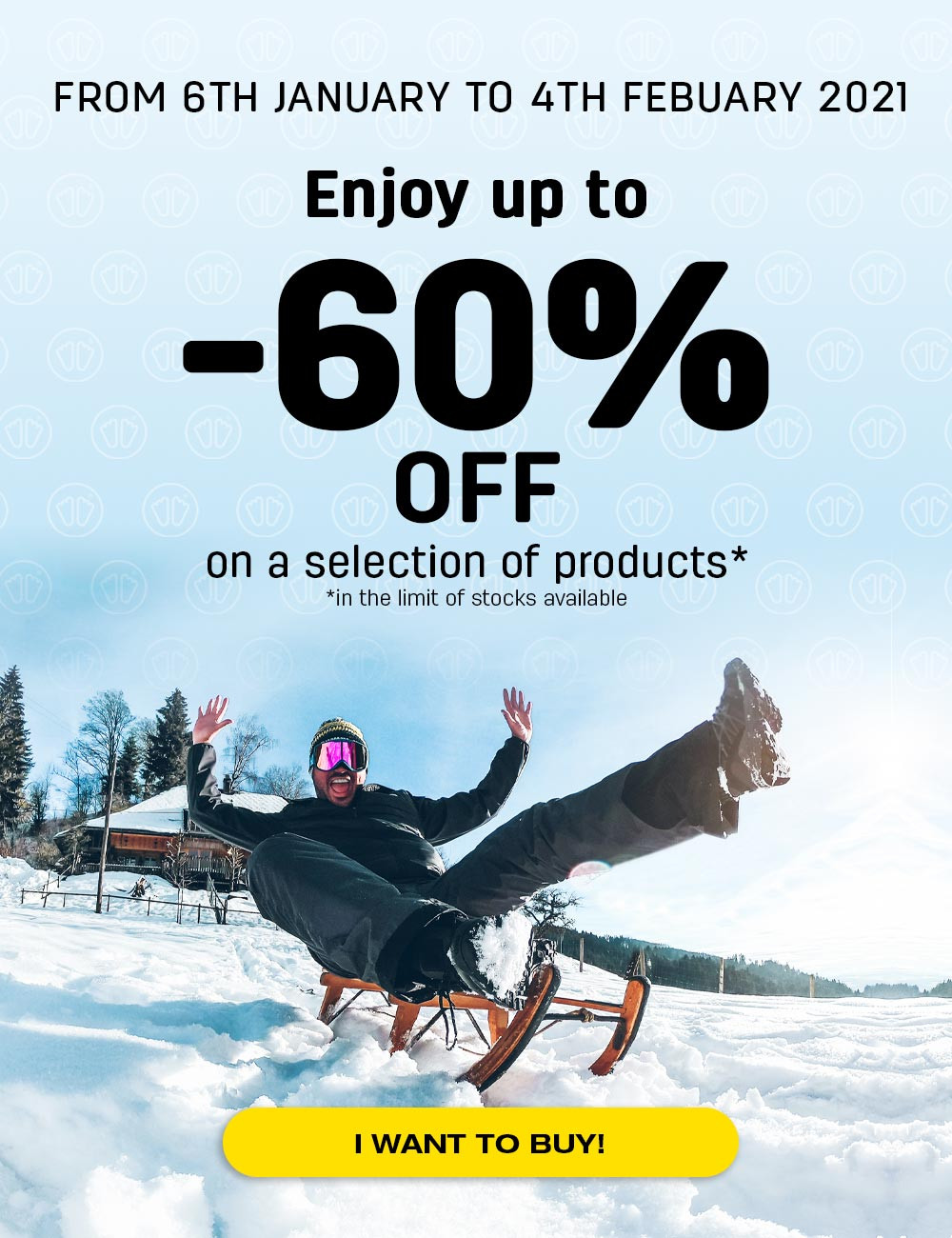 Enjoy up to 60% off on a selection of products!