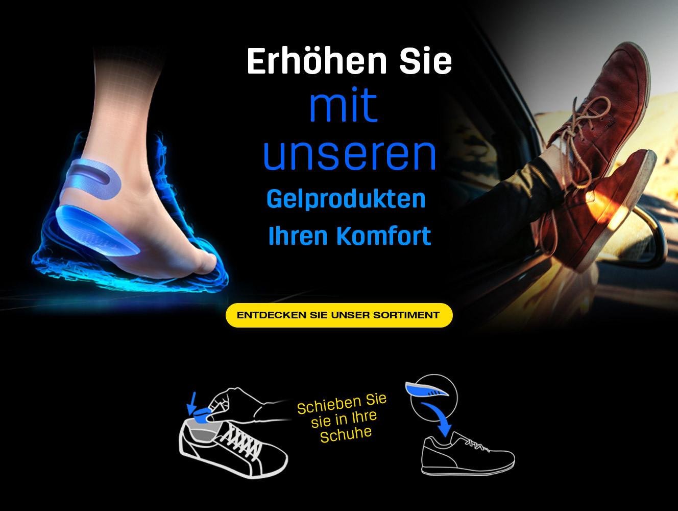 Les produits en gel parfaits pour améliorez le confort quotidien dans la chaussure