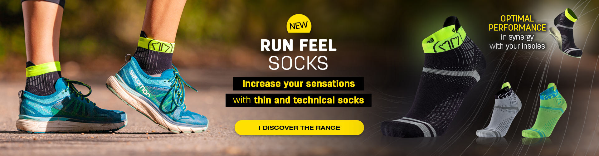 Discover our new running socks, thin and technicals!