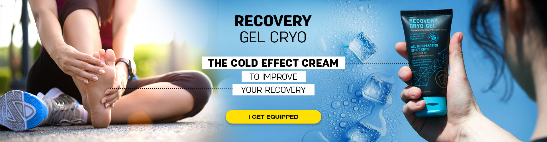 A great recovery after a sport session, the cryo effect will boost your recovery