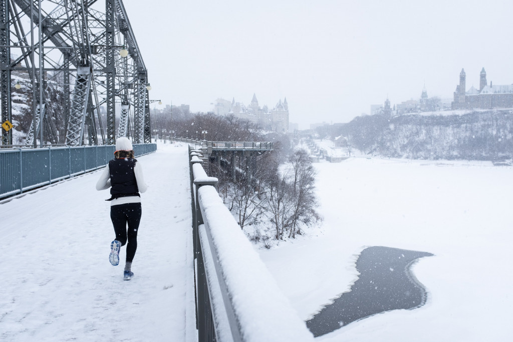 5 Trail running tips in wintertime!