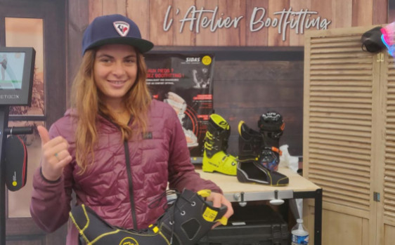 In the shoes of Juliette Willmann, french women's freerider