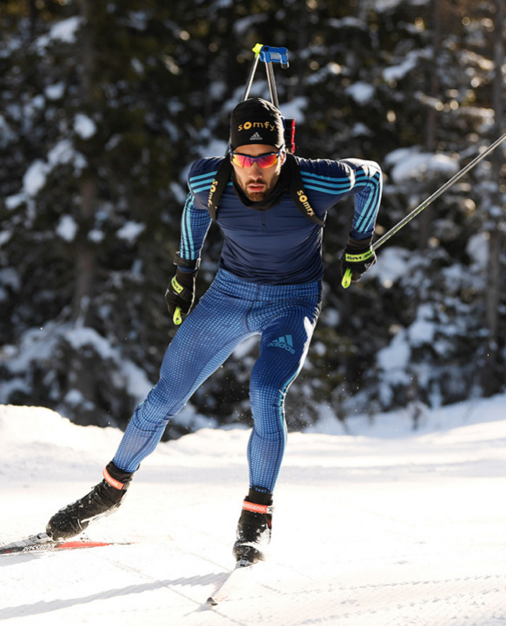 Martin Fourcade, the outstanding biathlon champion