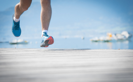 How do I optimize foot recovery after a race?