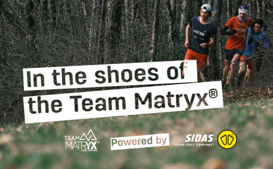 Caring for the feet of the Matryx® Trail Running Team!